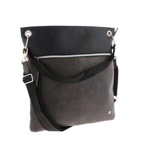 Muchacha - Damentasche aus LKW Schlauch und Öko Leder - grau - MoreThanHip