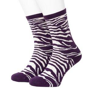 Zebra Pattern Socks - Opi & Max