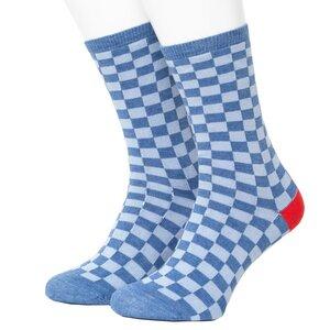 Check Pattern Socks - Opi & Max