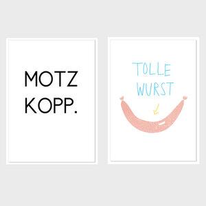 Postkarten-Set noull - noull