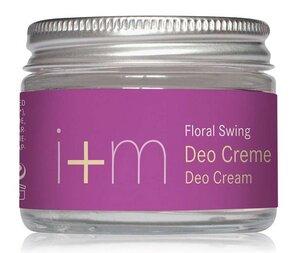 Natürliche Deodorant Creme Deocreme - Floral Swing  - I + M Naturkosmetik
