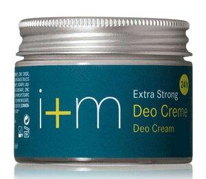 Natürliche Deodorant Creme Deocreme - Extra Strong  - I + M Naturkosmetik