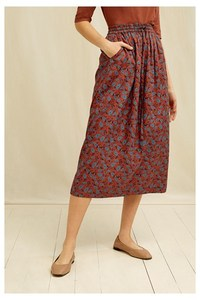 Dana Paisley Skirt - People Tree