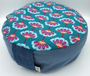 Sitzerhöhung/Meditationskissen Blume grün - HipHip-Hurra