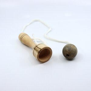 Fang den Ball Spiel aus Holz handgefertigt - Lajos Varga