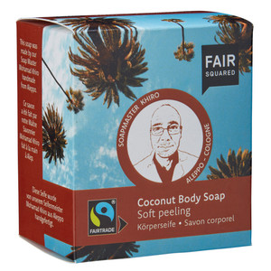 Fair Squared Coconut Body Soap Peeling  - Fair Squared