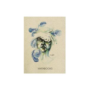 """Postkarte Graspapier - """"Blended"""" - Matabooks"""
