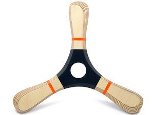 PROPELL 4 - sportlicher Bumerang aus Holz für RechtshänderIn - LAMEY bumerang