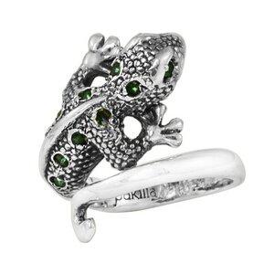 Silber Ring Chamäleon Fair-Trade und handmade - pakilia
