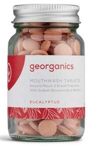 Georganics natürliche Mundwasser Tabletten Eukalyptus - Georganics
