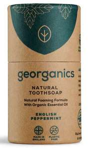 Georganics Zahnseife English Peppermint  - Georganics