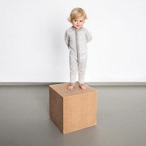 momo - kinder wickelbody aus 100% baumwolle (kbA)  - erlich textil