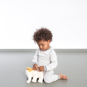 leo - kinder leggings aus 100% baumwolle (kbA) - erlich textil