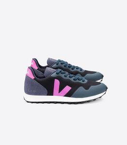 Sneaker Damen Vegan - SDU RT B-Mesh Black Ultraviolet Nautico - Veja
