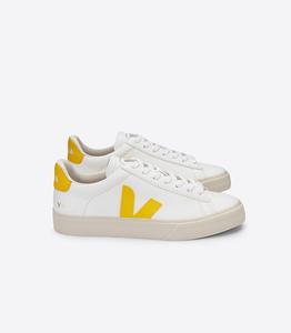 Sneaker Damen - Campo Easy Chromefree Leather - Extra White Tonic - Veja