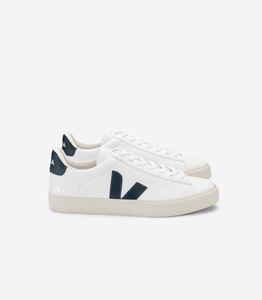 Sneaker Damen - Campo Easy Chromefree Leather - White Nautico - Veja