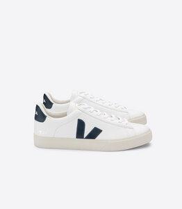 Sneaker Damen - Campo Easy Chromefree Leather - White Nautico - Veja