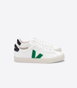 Sneaker Herren - Campo Easy - Extra White Emeraude Black - Veja