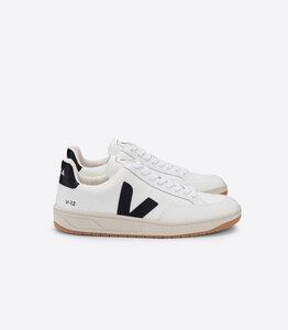 Sneaker Damen - V-12 B-Mesh - White Black Extra White - Veja