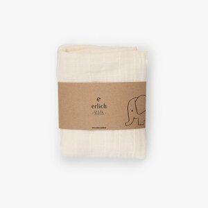 kalle natur 2er pack - spucktuch aus 100% baumwolle (kbA) - erlich textil