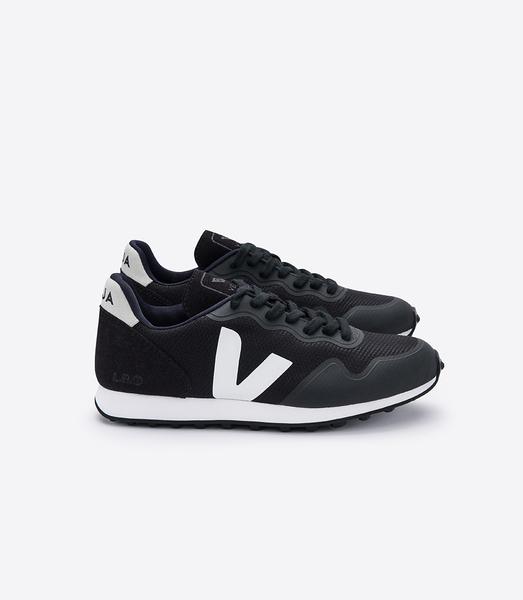 Sneaker Damen Vegan - Sdu Rt B-mesh Black White/ Natural