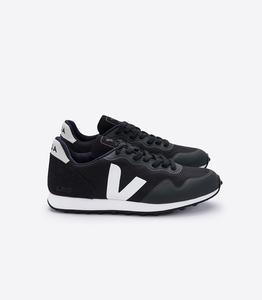 Sneaker Damen Vegan - SDU RT B-Mesh Black White/ Natural - Veja