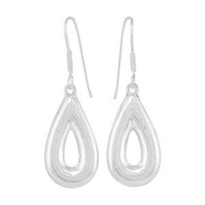 Ohrringe Silber Tropfen strahlende Ohrhänger Geschenkidee Fair-Trade - pakilia