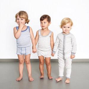 malu im 2er pack - mädchen unterhemd  - erlich textil