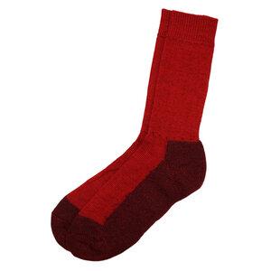 Kinder Trekking Socke - hirsch natur