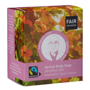 Fair Squared Apricot Soap senitive skin - Fair Squared