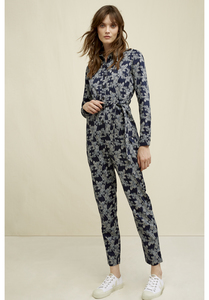 People Tree Anisa Fennel Print Jumpsuit  - People Tree