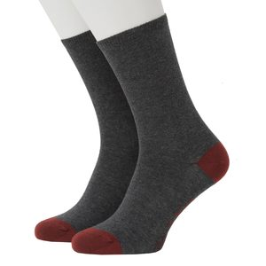Contrast Heel and Toe Office Sock - Opi & Max