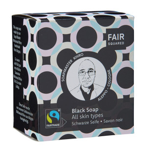 Fair Squared Black Facial Soap - 2x80gr - Fair Squared