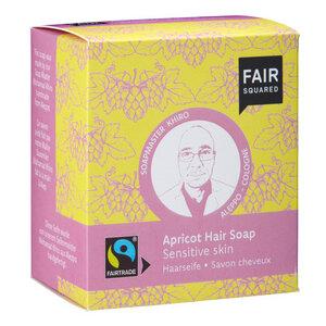 Fair Squared Apricot Hair Soap Sensitive Skin - 2x80gr. - FAIRSQUARED