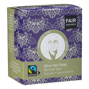 Fair Squared Olive Hair Soap normales Haar- 2x80gr. - FAIRSQUARED