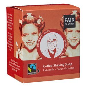Fair Squared Coffee Shaving Soap / Rasurseife - 2x80gr. - Fair Squared