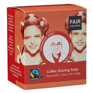 Fair Squared Coffee Shaving Soap / Rasurseife  - Fair Squared