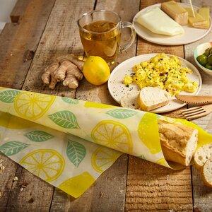 Brottuch / Bienenwachstuch für Brote & Crossaints 100% plastikfrei - Bambuswald