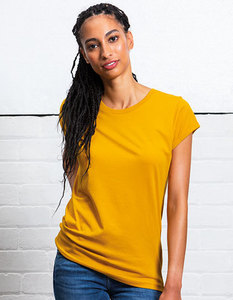 Damen Roll Sleeve T - Shirt lässig cooles Shirt  - Mantis
