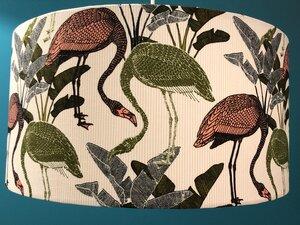 Hängeleuchte flat Flamingos coral - my lamp