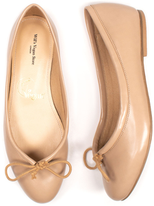 Ballerinas Sand Damen - Will's Vegan Shop