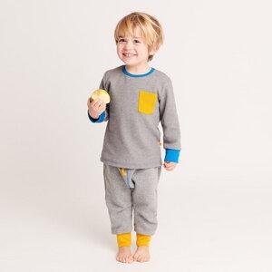 Sweathose mit Gesäßtasche und Gummizug, 100% Bio-Baumwolle - Cheeky Apple