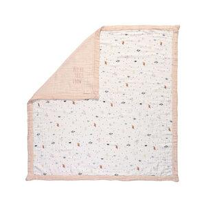 Lässig Babydecke - Heavenly Soft Blanket, Garden Explorer Schnecke oder Traktor - Lässig