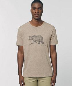 T-Shirt mit Motiv / Bär - Kultgut