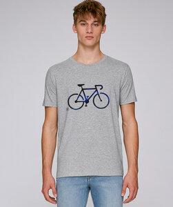 T-Shirt mit Motiv / Black Bike - Kultgut