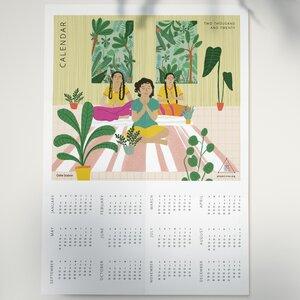 Kunstdruck Kalender für 2020 (limitierte Auflage) - by Project Três - Project Três
