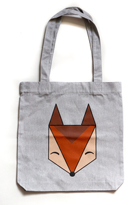 Logo Fuchs – Tasche - Róka - fair clothing