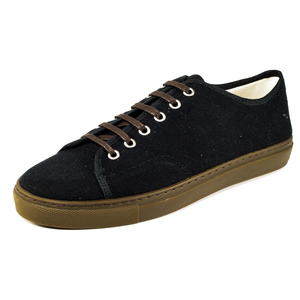 Sines Sneaker (black, Canvas) - Fairticken
