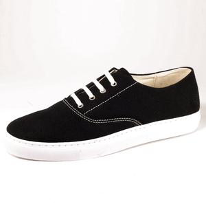 Nisa Sneaker (black, Canvas) - Fairticken