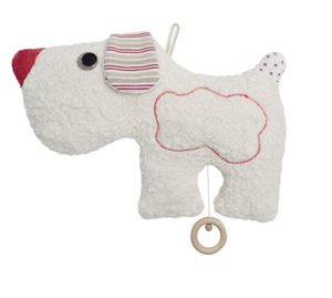 Spieluhr Hund, kontrolliert biologischer Anbau, 100 % Made in Germany - Efie